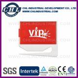 Пластиковый логотип печать письмо Китая сошника поставщика с наклейкой примечание