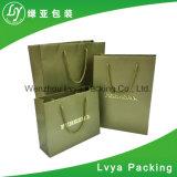 El papel de lujo personalizado Compras bolsa de regalo con logo Mayorista de impresión
