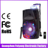 Da potência grande barato recarregável nova do estilo de Feiyang/Temeisheng/Kvg 2017 altofalante portátil do trole de Bluetooth da luz da esfera ---La-013D