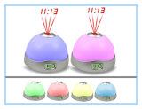 Orologio cambiante dell'affissione a cristalli liquidi della proiezione di colore