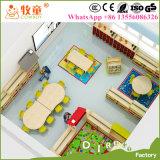 Mobília do quarto do berçário de China a melhor, mobília de escola completa do jardim de infância