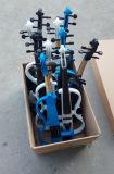 Conjuntos completos del precio barato 4/4 fábrica eléctrica del violín del color blanco