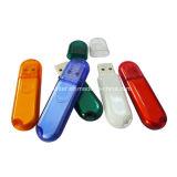 128g USB3.0のプラスチックペン駆動機構透過USBのフラッシュ駆動機構