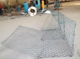 Stützmauer-/Gabion-Kasten des Belüftung-überzogener Galfan Draht-Gabion/Gabion