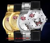 Het uitstekende Horloge van het Kwarts met de Riem Fs564 van het Roestvrij staal