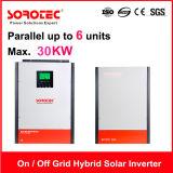 Salida de onda sinusoidal pura inversores solares con funcionamiento en paralelo hasta 6 unidades para SSP3119c 3kw