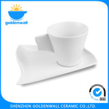 Tazza di caffè bianca della porcellana di sanità 120ml/4.25 ''