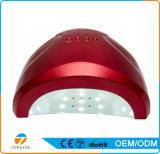 Manicure UV dell'indicatore luminoso della lampada dell'essiccatore del chiodo del professionista 24With48W LED