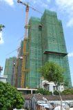 De Kraan van de Ketting van de Toren van de bouw