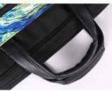 Sacchetto nero del computer portatile della borsa di corsa del sacchetto di affari per il sacchetto del carrello del blocco per grafici della barra di traino