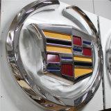 L'automobile symbolise le logo de véhicule ou le logo de véhicule de Frontlit 3D