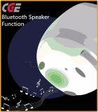 L'orateur magique de vente chaud de Bluetooth de bac de fleur de musique à l'intérieur des bacs d'usine de DEL pour la décoration réelle de bureau de centrale, chantent, Plantpot intelligent