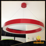 Modern 60W Red redonda do pendente decorativa LED Light ( MB- 7019 )