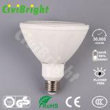 Aluminium- und Plastik-LED-NENNWERT beleuchtet Lichter des PFEILER Chip-18W E27 LED
