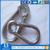 Gancho de leva del broche de presión del eslabón giratorio del acero inoxidable