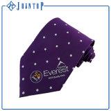 カスタム均一ブランドのロゴの無地の絹のネクタイ