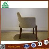 Moderner Einzelsitz-Stuhl und festes Holz-Bein-Stuhl für Wohnzimmer