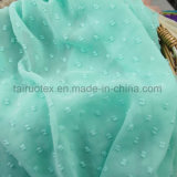 Gedrucktes Jacquardwebstuhl-Chiffon- Gewebe für Dame Dress Fabric