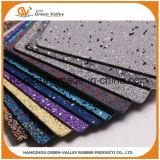 Couvre-tapis en caoutchouc anti-bruit Rolls de plancher pour le matériel de gymnastique