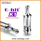 Seego G-A heurté la cigarette électronique de la vapeur K1 maximum avec le réservoir en verre