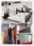 Nach Maß neuester weißer Lack-festes Holz-Küche-Schrank Wk-10
