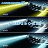 BMW E60のためのMarkcars 6000k 8000k LEDのヘッドライト