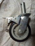 Rotella mobile resistente della macchina per colata continua dell'armatura con il freno
