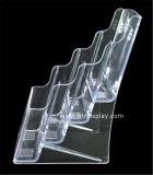 Ясное изготовление Btr-H6308-2 держателя брошюры автошин пластмассы A5 4
