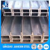 China proveedor acero Canal Tamaño Precio