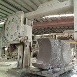 De snelle Scherpe Zaag van de Draad van de Diamant met Versterkt Plastiek en 37bpm voor het In blokken snijden van het Graniet