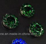 Heißer verkaufen14mm KristallRhinestone beim Nähen auf Strass mit Greifer-EinstellungRhinestone (TP-14mm Smaragdkristall)