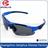 Поляризовыванные приполюсные солнечные очки слепимости UV400 поляризовывали заменимые стекла бейсбола объектива