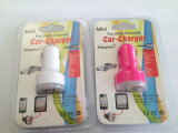 O USB duplo do micro na venda quente 5V 2.1A +1A do carregador do carro Dual carro do USB