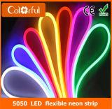 Большой неон гибкого трубопровода СИД высокого качества AC230V SMD5050 RGB промотирования