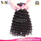 Grad-Jungfrau-brasilianische lockiges Haar-tiefe Welle des Häutchen intakte Prefectly Menschenhaar-7A