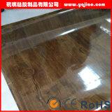 높은 광택 있는 부엌 찬장 진공 압박 PVC 장 엄밀한 PVC 포일 높이 광택 있는 장식적인 PVC 필름