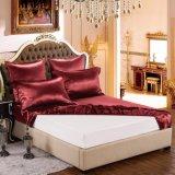 贅沢19のMomme 4PCSの純粋なクワ絹の寝具セット
