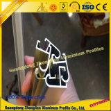 Perfil de aluminio del marco del espejo con oro del Cp y el color de plata del Cp