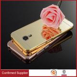 贅沢の背部金属XiaomiのMeizuのためのアルミニウム豊富なミラーの携帯電話の箱