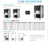 Machine de glace verticale neuve de cube