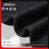 Tessuto blu scuro del denim della saia 10*8 per i jeans delle donne
