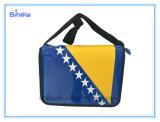 깃발 색깔 미러 표면 긴 결박 어깨에 매는 가방