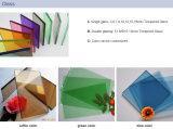 Colore di legno di alluminio della finestra di scivolamento della finestra