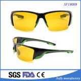 2017 polarizou a bicicleta de montanha de ciclagem amarela Eyewear dos óculos de sol dos esportes