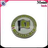 Vente en gros Custom Golf Bulk Gold Plating Metal Ball Markers