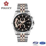 人のためのすべてのステンレス鋼の腕時計のクロノグラフ
