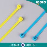 Band 4.5X180mm van de Kabel van de Band van de Kabel van A5X180 Igoto Releasible Nylon Plastic
