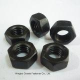 Noir d'Unc Gr5 de noix Hex de la norme ANSI B18.2.2