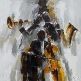 Paysage moderne Peintures à huile