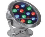 Luz ligera subterráneo del suelo del color LED del precio bajo 180*H230mm18W 24V LED de la venta caliente sola